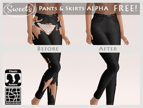 Sweet's Free! Pants & Skirts Alpha Kit