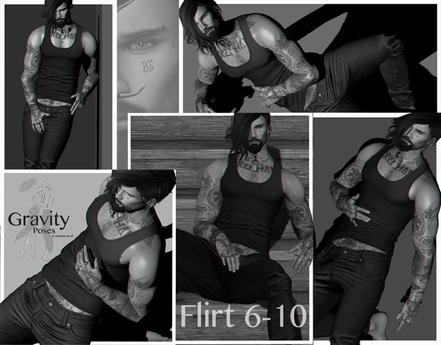 Gravity Poses  -  Flirt 6-10