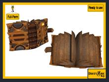 ::DisturbeD:: Book of Magic Spells  - FULL PERM MESH