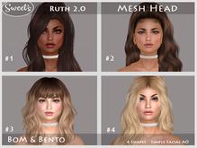 Sweet's Ruth 2.0 BoM Bento Mesh Head