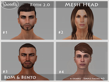 Sweet's Roth 2.0 BoM Bento Mesh Head