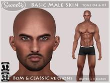 Sweet's Basic Male Skin - BoM & Classic [tone 4 & 5]