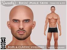 Sweet's Basic Male Skin - BoM & Classic [tone 2 & 3]