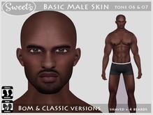 Sweet's Basic Male Skin - BoM & Classic [tone 6 & 7]