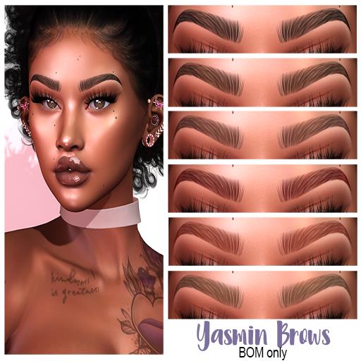 .:the-HAUS:. Yasmin BOM Eyebrows (Genus)