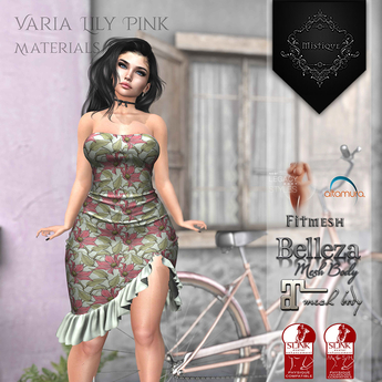 **Mistique** Varia Lily Pink{wear me and click to unpack)