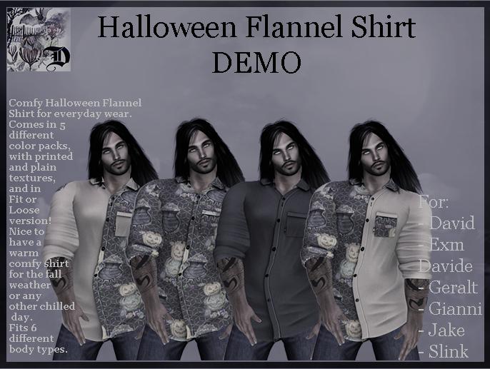 Men's Halloween Shirt DEMO (ADD ME)