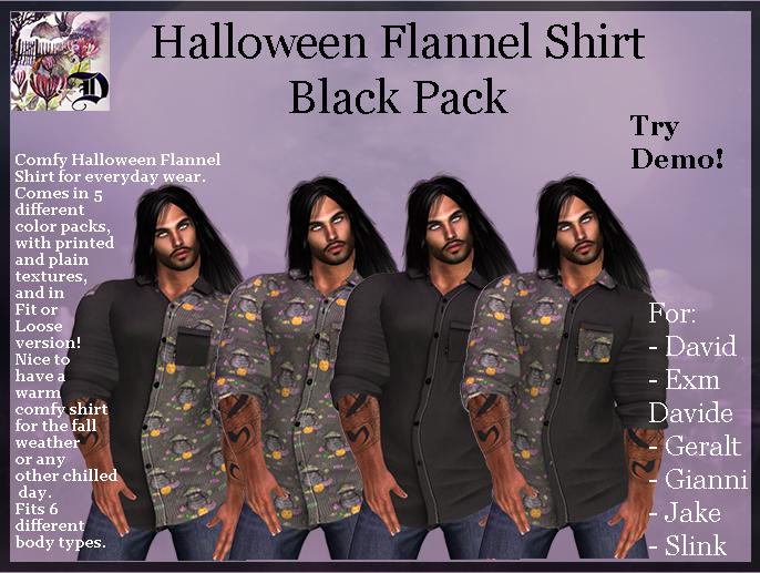 Men's Halloween Shirt - Black Pack (ADD ME)