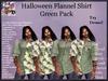 Men's Halloween Shirt - Green Pack (ADD ME)