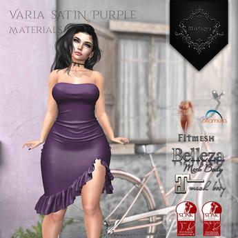 **Mistique** Varia Satin Purple{wear me and click to unpack)