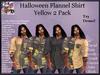 Men's Halloween Shirt - Yellow 2 Pack (ADD ME)