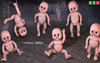 [MF] Crying creepy puppets dolls SET (boxed)
