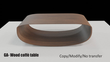 GA-wood coffe' table