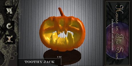 HITS Toothy Jack Free Halloween Gift 2020