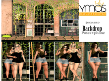 {Ymas Poses} Friends + BACKDROP