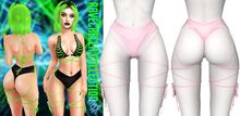 Demon Doll - Ravechella Shorts Baby Pink