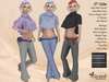 ST :: Celia Outfit for Maitreya Lara, Slink (P, H), Belleza (V, I, F) and Tonic (C, F). 10 Tex HUD. Mix & Match