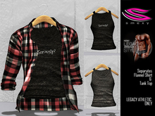 ::Smexy:: A Flannel Shirt RED Legacy Athletic