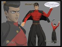 Avatar mesh Metal Bat One Punch Man (Bento)
