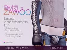 [ZaWoo] Laced Arm Warmers for Maitreya Lara, V-Tech Compatible