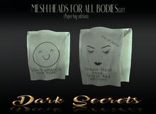 Dark Secrets - Mesh Head Paper Bag Edition