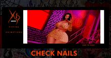 XO - Check Nails *Typer*
