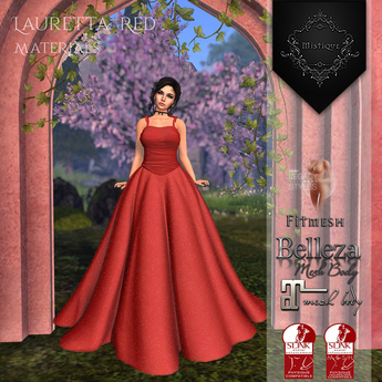 **Mistique** Lauretta Red{wear me and click to unpack)