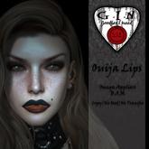 G.I.N - Ouija Lips *Add or Rez to unpack*