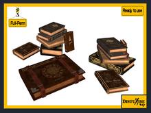 ::DisturbeD:: Stack of Spellbooks & Book - FULL PERM MESH