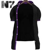 Nero - Flavio Shirt - Black - Purple