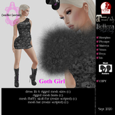 ::C S:: Goth Girl Outfit