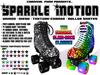 *Carnival Punk* [Unisex] Sparkle Motion Roller Skates