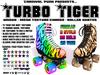 *Carnival Punk* [Unisex] Turbo Tiger Roller Skates