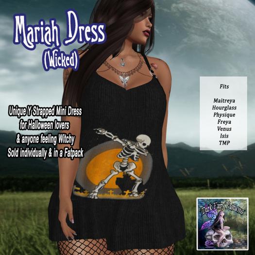 DFF Mariah Dress (Wicked) #18