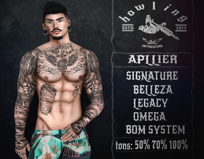 [ H O W L I N G ]- Fighter - Tattoo.