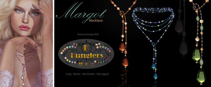 KUNGLERS - Margot necklace
