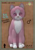 KittyCatS Box - Chateau Cat - Pink & White No. 1 - Pink Ice