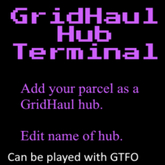 GridHaul Hub Terminal