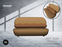 Crowded Room -  Hot Dog Couch PG