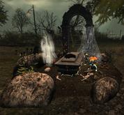 CJ Halloween Grave - little Rosie - Box add