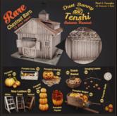 dust bunny & tenshi . pumpkin wagon . boxed