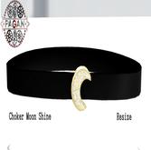 [Pagan] Choker Shine Moon Black