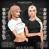 Wasabi // Lyla w/ Cap Mesh Hair - #3 Browns RARE