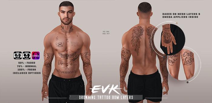 [ E V K ] Drowning Tattoo