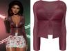 !PCP :: Mariah Shirt [Cherry]