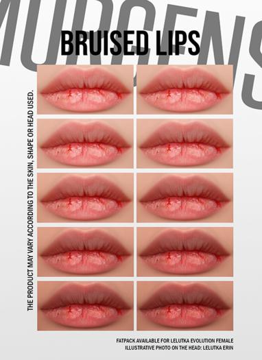 MORGENSTERN: BRUISED LIPS [LELUTKA EVOLUTION FEMALE]
