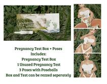TIS x Pregnancy Test Box + Poses