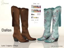 S&P Dallas boots (wear to unpack)