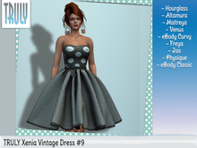 TRULY Xenia Vintage Dress #9