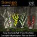Savage Rose Garden - 4 Rose Bushes